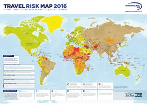 International SOS Travel Risk Map 2016