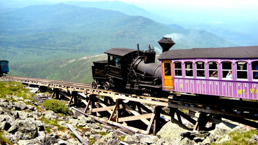 Mount Washington Cog Railway, Mount Washington State Park